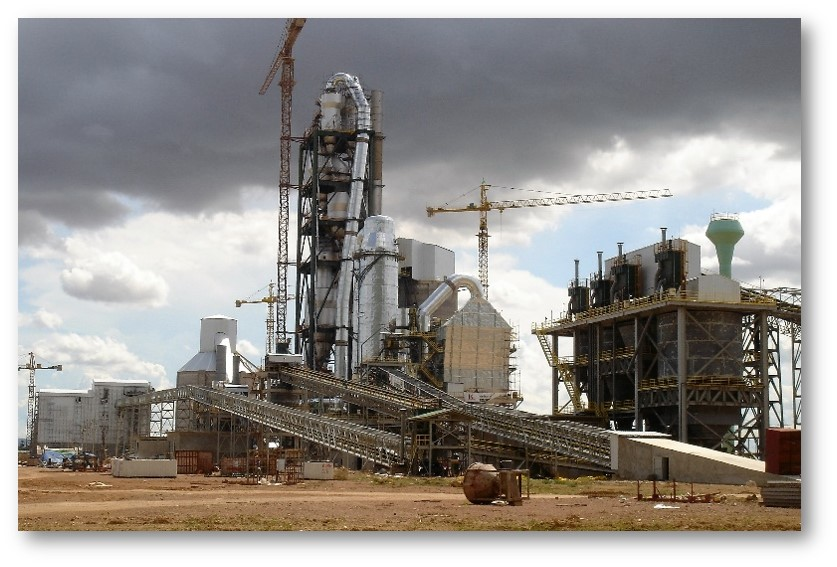 Xuan Thanh cement plant